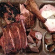 Barbecue meat at Slow Bone restaurant in Dallas