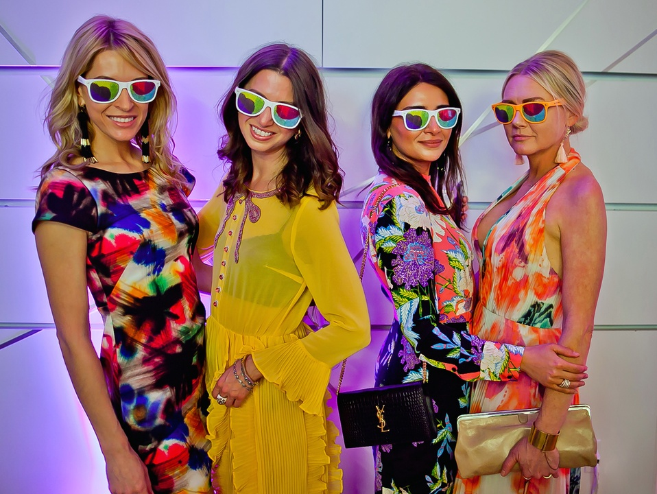 Houston, Blaffer Art Museum Color Splash Gala, April 2017, Kendall Hanno, Tamar Mendelssohn, Saba Jawda, Caroline Starry LeBlanc