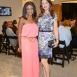 45 Jacquie Baly, left, and Parissa Mohajer at the HFAF at Neiman Marcus Art of Fashion September 2014