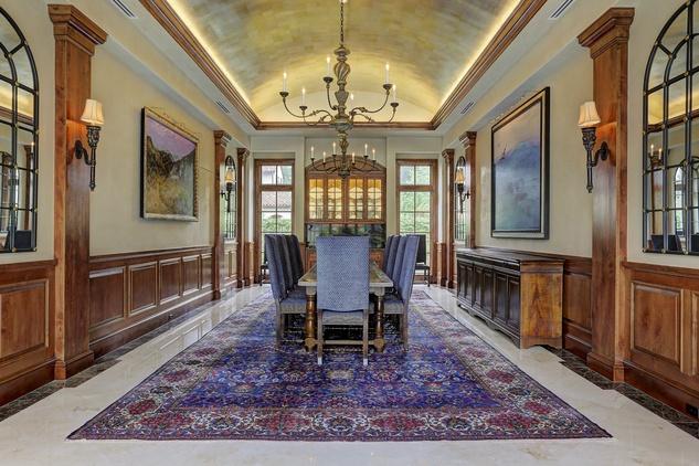Houston, Buckingham 527, June 2015, dining room