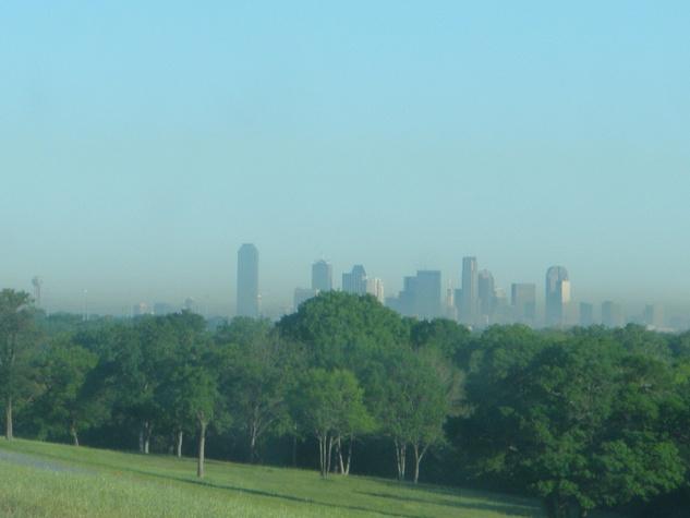 Smog in Dallas, Texas