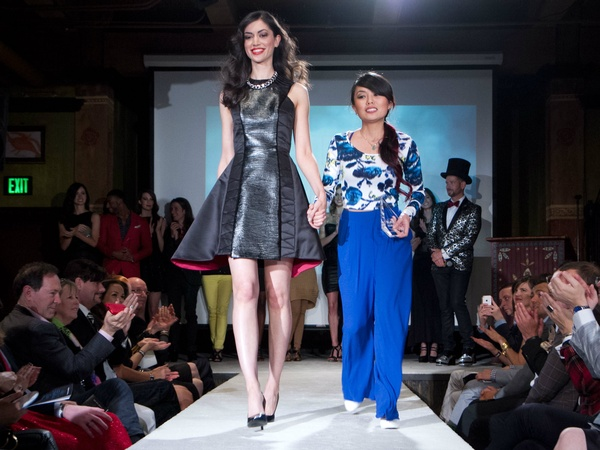 Dallas House of Blues goes black for iconic designer dress competition