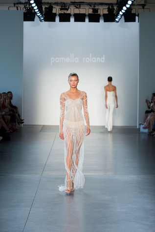 Pamella Roland spring 2017 collection look 2
