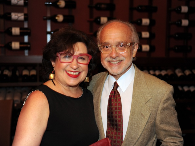Roz and Alan Pactor at the Michele Pozo jewelry show August 2014