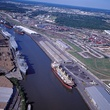 Port of Houston, Houston ship channel, ships