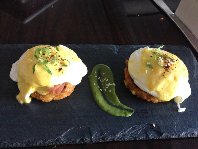 Amy, best brunches, March 2013, Latin Bites eggs benedictos