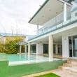 Austin house home Acqua Villa Winn Wittman Lake Travis 14515 Ridgetop Terrace 78732 exterior back patio