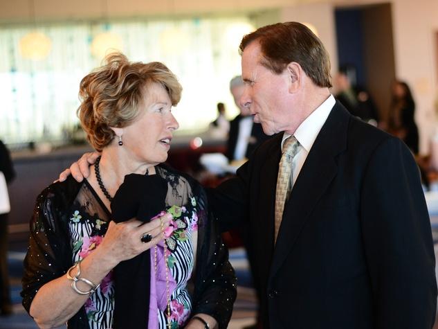 Linda and Patrick Sweet at Alex Martinez's birthday party July 2014