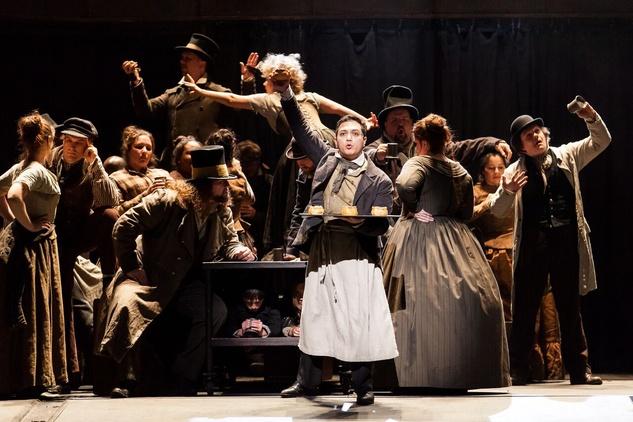 Sweeney Todd at HGO 2015