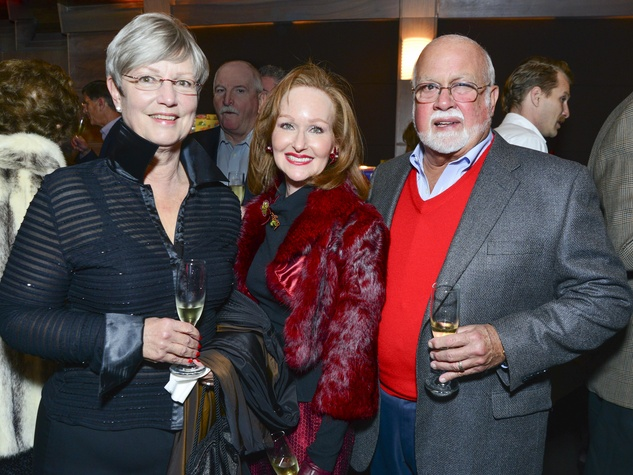 1 Doreen Crappito, from left, Carol Sawyer and Frank Crappito at Joyful Toyful December 2013