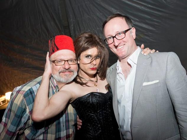Catastrophic Theatre Drag Ball 2015 Tom Padgett, Hunter Martin, James Glassman