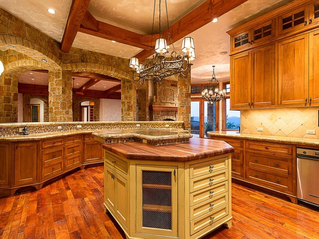 Austin home house 12006 Pleasant Panorama View 78738 Jeff Kent April 2016 kitchen