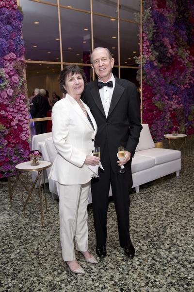 Leslie and Brad Bucher at MFAH Grand Gala Ball