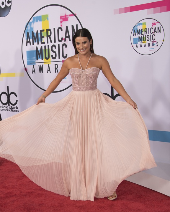 American Music Awards Lea Michelle