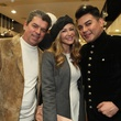 1736 Don and Patti Murphy, from left, with Edward Sanchez at the Festari for Men Christmas Party December 2013