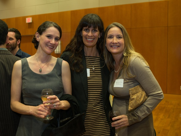 Private Reception Honoring James Turrell Jamie Berlant-Levine; Ingrid Spencer; Meredith Powell