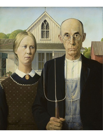 Grant Wood's American Gothic