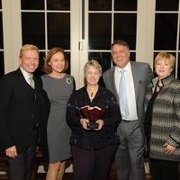News, Shelby, Mayor Parker Award, Feb. 2015 Jonathon Glus, Minnette Boesel, Mayor Parker, Marc Melcher, Leslie Blanton