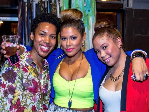 Alexis Hunter, Christen Correa, Dana Badren, Hari Mari Factory Show