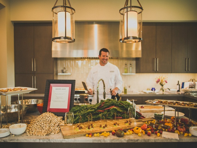 Chef provided by SubZero Wolf
