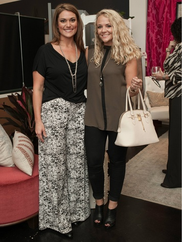Sarah Manning, Natalie McConnell, Dwell With Dignity Grand Opening
