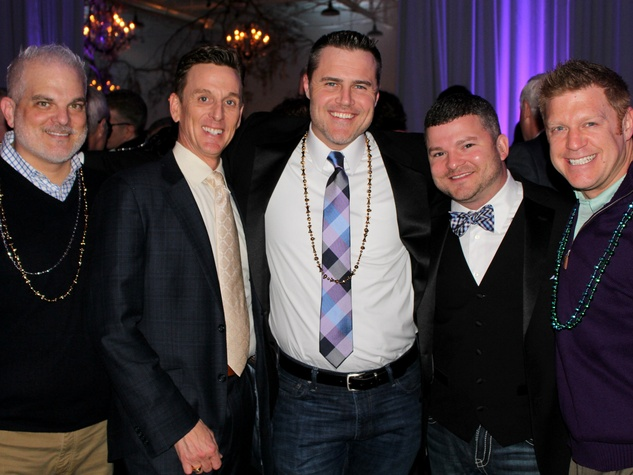 Sam Tucker, Ky Fiser, Troy Steece, Jeremy Collinsworth, Christian Minnicks at Toast to Life 2015