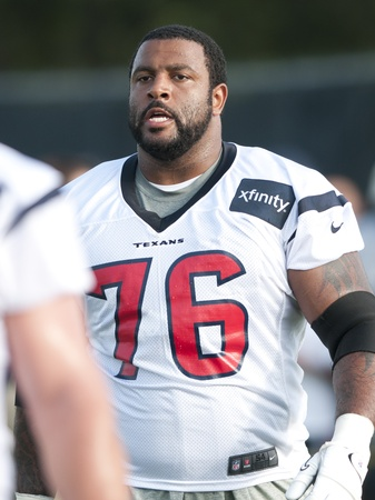 Duane Brown Texans camp