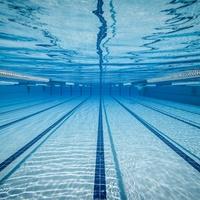 swimming pool lanes underwater