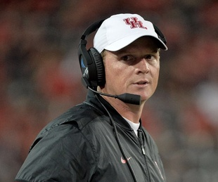 University of Houston head coach Major Applewhite