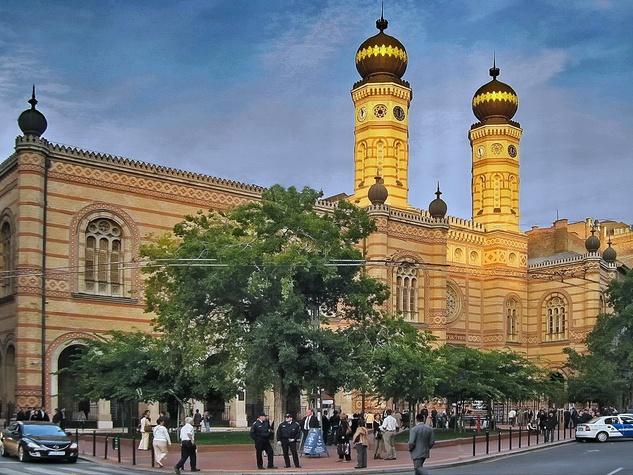 Dohany Street Synagogue Budapest Hungary