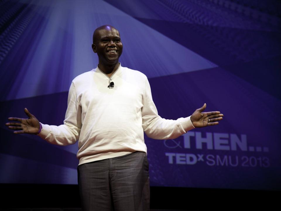 TEDxSMU speaker Eric Bing