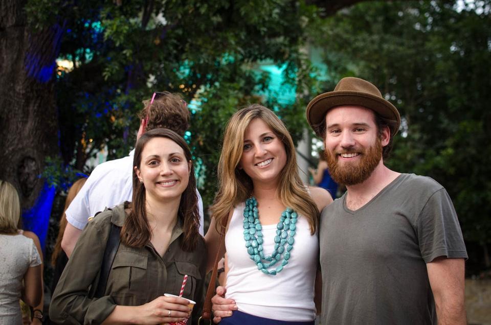 Charitybash Benefit Allison LeBlanc, Brittany Oster and James Mason