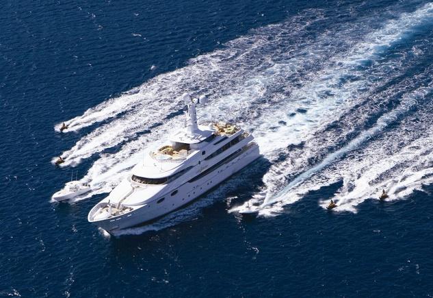 Lady Sheridan, yacht