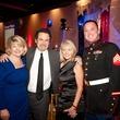Helping a Hero.org gala, October 2012, Meredith Iler, Dennis Miller, Resa Wing, Sgt. Eddie Wright