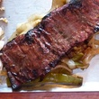 Sylvia's Enchilada Kitchen Tampiquena beef fajita steak rice enchilada