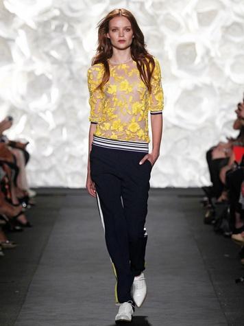 Fashion Week spring summer 2015 Naeem Khan October 2014 LOOK 8