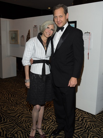 Art League Houston gala, October 2012, Judy Nyquist, Scott Nyquist