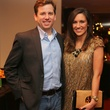 Jared Cox and Leah Hanson at the Alley Young Professionals holiday party December 2013
