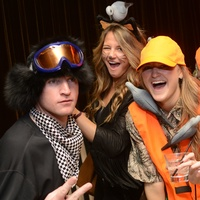 Nicholas and Kristin Johnson, from left, Lindsey Schultz and Craig Mckenna at Hotel ZaZa's Halloween Bash November 2014
