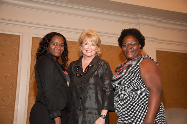 News, shelby, Foundation for Teen Health luncheon, Oct. 2015, Leandra DeWitt, Jan Carson, Catina Hunt