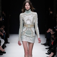 News_Lindley_Paris Fashion Week_Balmain_April 2012