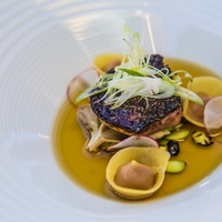 Cureight foie gras pho broth