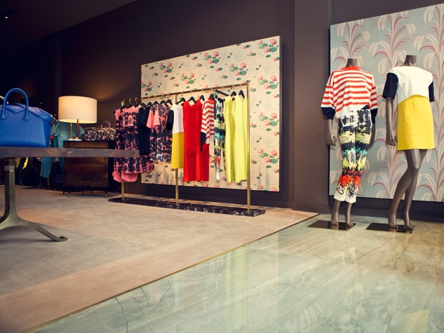 The Webster clothing store Miami March 2015 Bal Harbour interior