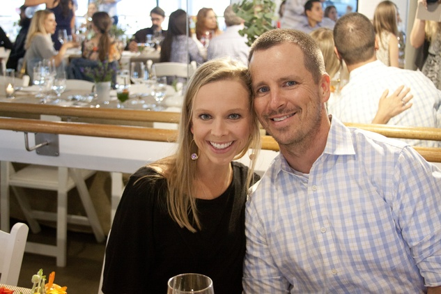 Houston, Define Foods Supper Club, May 2015, Kristen and Sam McGhee
