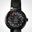 Houston, Louis Vuitton new Tambour Horizon watch, July 2017, Tambour Horizon Black