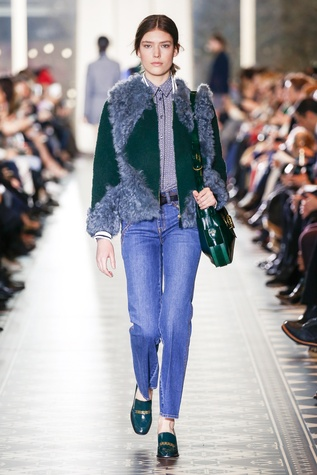 Tory Burch fall 2016 collection Look 18