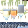 Sparkling wine at Domaine Carneros in Napa
