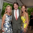 Pat Breen, from left, with James and Elise Reckling at the Rienzi Spring Party April 2014