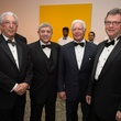 Ellis Tudzon, from left, Michael Covert, Leonard Tallerine and Bruce Arendale at Museum of Fine Arts Houston MFAH One Great Night November 2014
