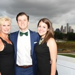Kristen Oesch Stubbs, Cameron Stubbs, Morgan Stautzenberger at Barbara Bush Foundation gala kickoff